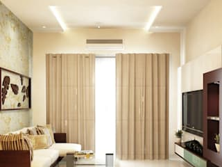 4BHK Villa residence interiors Modern living room by Rhythm And Emphasis Design Studio Modern