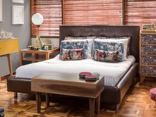 HABITACIÓN 1 - OCHOINFINITO : Habitaciones de estilo  por OCHOINFINITO Mobiliario - Interiorismo
