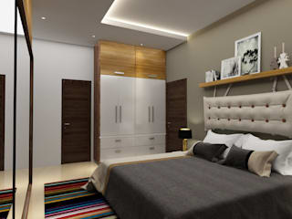 Project 10:  Bedroom by Rhythm  And Emphasis Design Studio