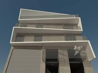 GS TALLER DE ARQUITECTURA Multi-Family house Reinforced concrete Grey