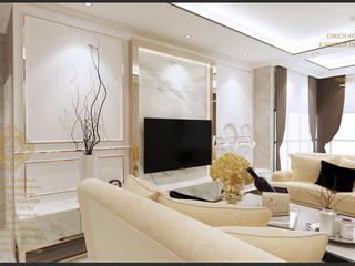 Semi-Detached Houses Design - Senibong Villa Johor,Malaysia by Enrich Artlife & Interior Design Sdn Bhd Modern