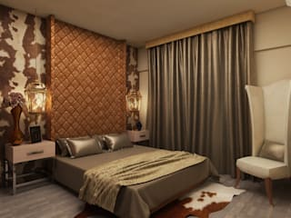bedroom:  Bedroom by Rhythm  And Emphasis Design Studio