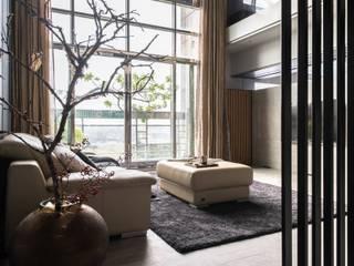 Phòng khách by 禾巨事業-建設.工程.空間設計