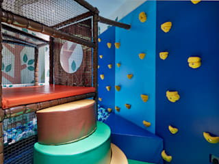 Woodland Softplay Room Eclectic style nursery/kids room by Tigerplay Eclectic