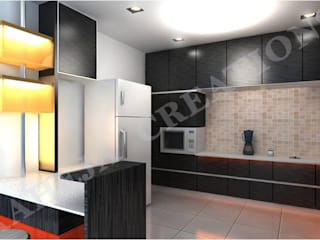 Interior Modern kitchen by Raheja Creations Modern