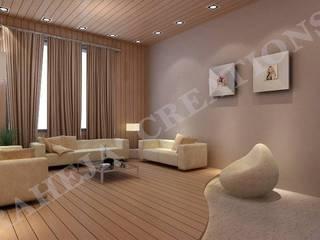 Salas modernas de Raheja Creations Moderno