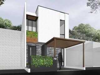 Rumah Gaya Mediteran Oleh SAE Studio (PT. Shiva Ardhyanesha Estetika) Mediteran