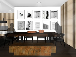 Tropical style dining room by SAE Studio (PT. Shiva Ardhyanesha Estetika) Tropical