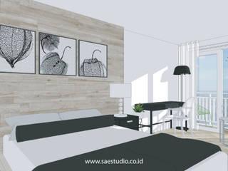 Trivium Apartment I Suite Classic style bedroom by SAE Studio (PT. Shiva Ardhyanesha Estetika) Classic
