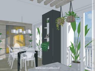 Trivium Apartment I Suite Classic style dining room by SAE Studio (PT. Shiva Ardhyanesha Estetika) Classic