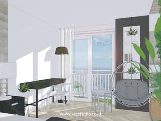 Trivium Apartment I Suite Classic style bathroom by SAE Studio (PT. Shiva Ardhyanesha Estetika) Classic
