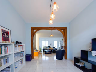 Séjour: Salon de style de style Scandinave par One look inside