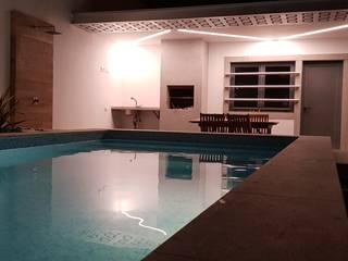 Projecto piscina por Traço in Moderno