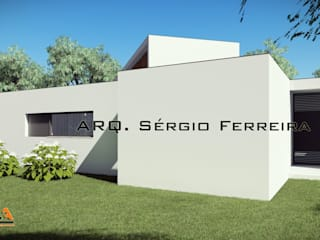 Casa das Lameiras, SFArquitetos: Casas unifamilares  por SFArquitetos