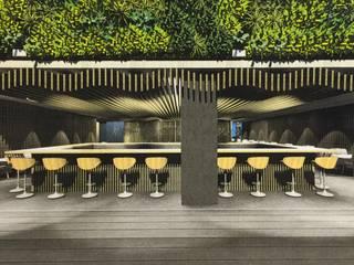 O Bar:   por AL Interiores