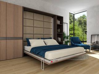 Łóżko do małych mieszkań Smartbed V: styl , w kategorii  zaprojektowany przez Transforms Smart Beds
