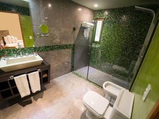 GS TALLER DE ARQUITECTURA Modern hotels Ceramic Green