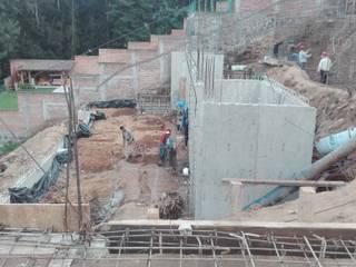 Casa Valle de Bravo:  de estilo  por GA+ST CONSTRUCCIÓN PROYECTOS  E INGENIERÍA DE COSTOS