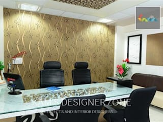 Interior Design Of Dhawade Office: Conference Centres By KAMu0027S DESIGNER ZONE