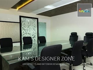 Interior design of Dhawade Office by KAM'S DESIGNER ZONE Modern