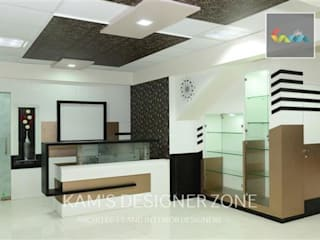 Interior Design Of Dhawade Office: Commercial Spaces By KAMu0027S DESIGNER ZONE