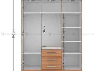 Decordesign Interiores Dressing roomWardrobes & drawers