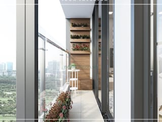 Moderner Flur, Diele & Treppenhaus von ICON INTERIOR Modern