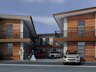 Proposed 20 unit studio type residential apartment by Arkitonic Builders