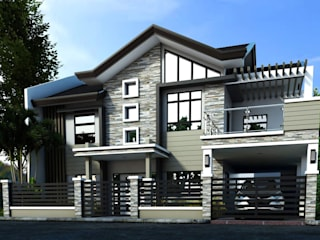 Three (3) storey Residential Building by Arkitonic Builders