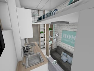 Studio: Salon de style  par Crhome Design