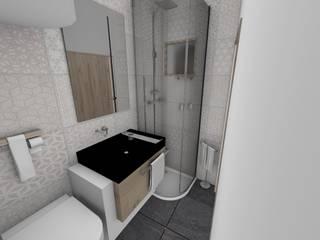 Studio: Salle de bains de style  par Crhome Design