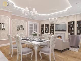 Дизайн трехкомнатной квартиры 115 кв. м: Столовые комнаты в . Автор – Группа Компаний 'Фундамент'