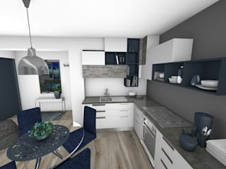 Crhome Design Modern kitchen