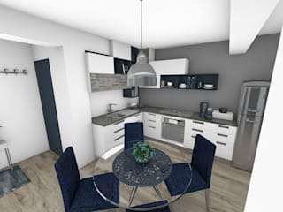 Crhome Design Modern dining room