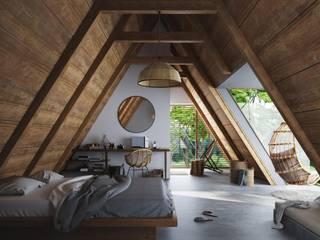 Studio Gritt Dormitorios de estilo rústico