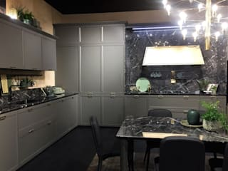 Sgabello Interiores KitchenCabinets & shelves Kayu Grey