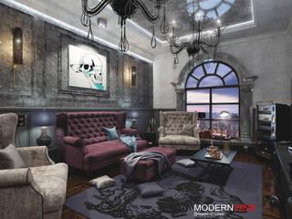 Гостиная : Гостиная в . Автор – Дизайн - студия  Modern View