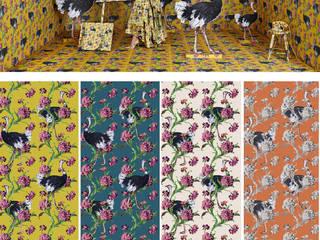 SK Concept Duvar Kağıtları ve Kumaş  – Simone Guidarelli Koleksiyonu:  tarz Koridor ve Hol