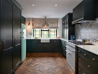 Holkham | Rural Meets Urban Davonport KitchenCabinets & shelves Green