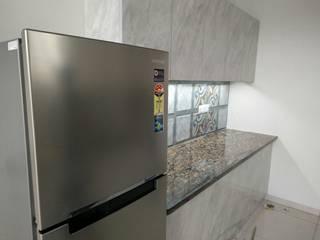 2bhk at Samprasiddhi GreenEdge Modern kitchen by 12 Square Interiors Modern