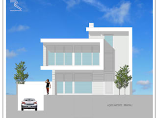 Houses by Roquete Arquitectos, Modern
