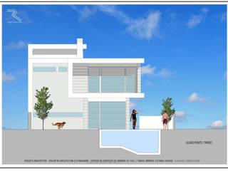 CASA JF - CASCAIS - PORTUGAL: Casas  por Roquete Arquitectos,Moderno