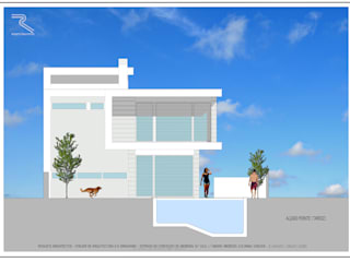 Casas modernas de Roquete Arquitectos Moderno