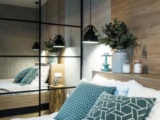 MIKOŁAJSKAstudio Industrial style bedroom