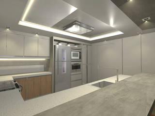 Cozinha - moderna : Armários e bancadas de cozinha  por Sâmila Ferreira -  Arquitetura
