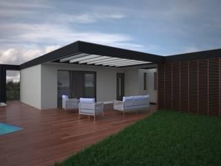 Casas modernas de Idealiving Moderno
