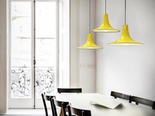 Co&Ca Lighting Dining roomLighting Iron/Steel Yellow
