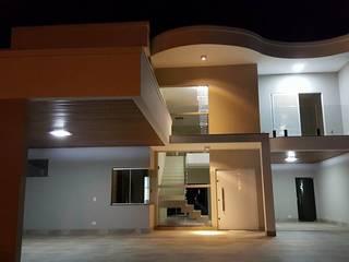 Casas  por Aline Monteiro ,