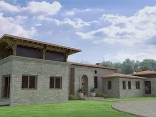 Azcona Vega Arquitectos Casas de estilo rural