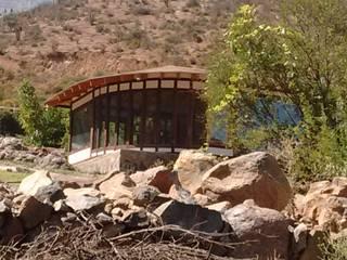 Casa Quincho - Carpinterias: Casas de madera de estilo  por Construyendo Reciclando